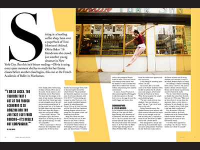 Emma in the City editorial magazine feature