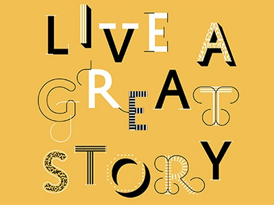 Live a Great Story editorial magazine feature