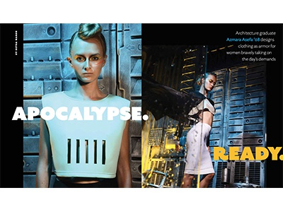 Apocalypse. Ready. magazine feature editorial