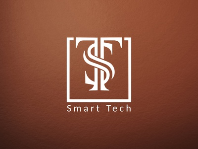 Smart Tech tech logo initial logo ts logo symbolic logo monogram logo minimalist typography vector logo illustrator branding