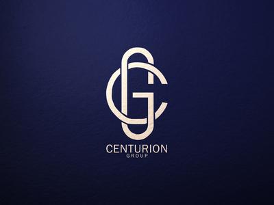 Centurion Group initial logo gc symbolic logo monogram logo minimalist typography vector logo illustrator branding