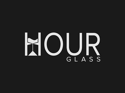 Hourglass Logo design wordmark logo logo designer logo design minimalist typography illustrator vector logo branding
