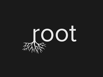 Root Logo wordtype logo logotype brand designer root logo designer logodesign