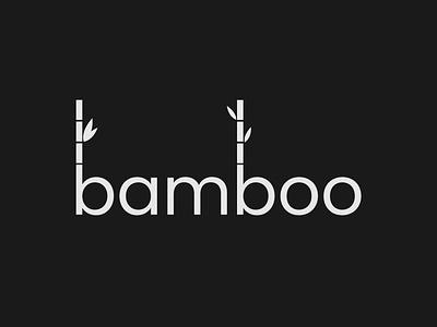 Bamboo Logo bamboo bamboo logo brand designer brand identity wordmark logo logo designer design logo branding