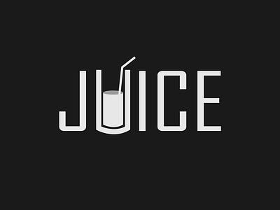 Juice Logo Concept juice logo logo mark brand identity brand design wordmark logo logo designer minimalist design typography logo branding
