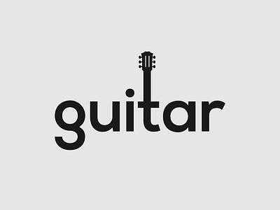 Guitar Logo Concept brand designer guitar brand identity logo designer logotype brand design branding