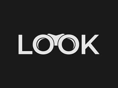 Look Logo Concept look logo wordmark logo brand designer logo designer logo typography branding