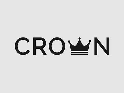 Crown Logo Concept crown logo brand designer logo designer design minimalist vector illustrator typography logo branding