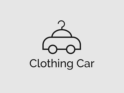 Clothing Car concept car logo cloth brand clothing logo logo designing logo designer brand designer brand design design minimalist illustrator typography logo branding