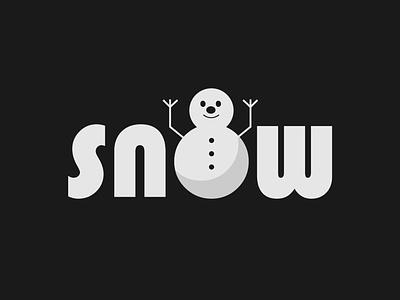 Snow Wordmark logo concept snow logo minimalist wordmark logo logo design branding brand designer logo designer logo