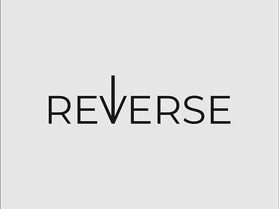 Reverse Logo Concept creative design minimalist logo typography logo reverse logo brand designer wordmark logo logo designer logo