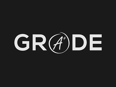 Grade wordmark logo concept grade logo wordmark wordmark logo logo designer brand designer minimalist illustrator vector typography logo branding