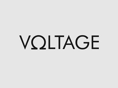 Voltage wordmark logo concept science logo voltage logo logo identity brand designer branding brand wordmark logo logo designer logo