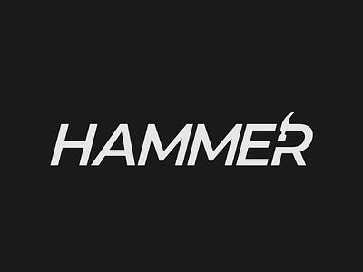 Hammer Logo Concept logo design logo identity brand designer hammer logo design minimalist illustrator vector typography logo branding