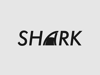 Shark Logo Concept logo identity wordmark logo brand designer shark logo minimalist illustrator vector typography logo branding