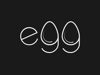 Egg logo concept logo designer brand identity logo identity egg logo design minimalist illustrator vector typography logo branding
