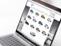 Volkswagen UA local dealer model selection