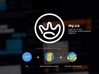 my.ua social network logo