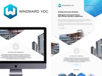 Windward VDC Logo and website