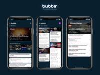 Bubblr App Redesign