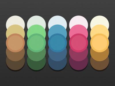 Flat Palette color colorful flat palette colors