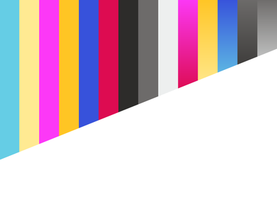 Neon Brand Palette 1980s palette bright colors geometric gradient neon