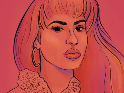 Selena Portrait