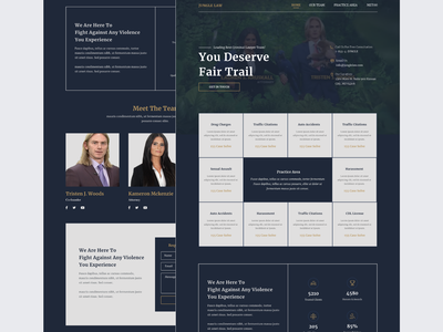 Redesign Jungle law website