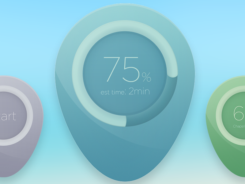 Dropper Icons download button map pins