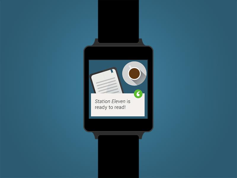 txtr wear notification android wear notification ebooks lg watch alert