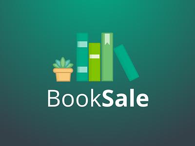 BookSale Logo  ui design ui illustration vector books book redesign logo