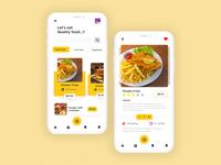 Fast Food App Design
