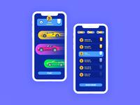Car Racing Game App Design