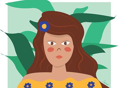 No estamos todas drawing illustrator digitaldraw design illustration mexican culture mexican art woman illustration feminism women empowerment womens day mexican ilustrator women