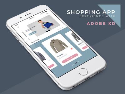 Shopping App adobe xd shopping app shopping appdesign app ux ui design adobexd