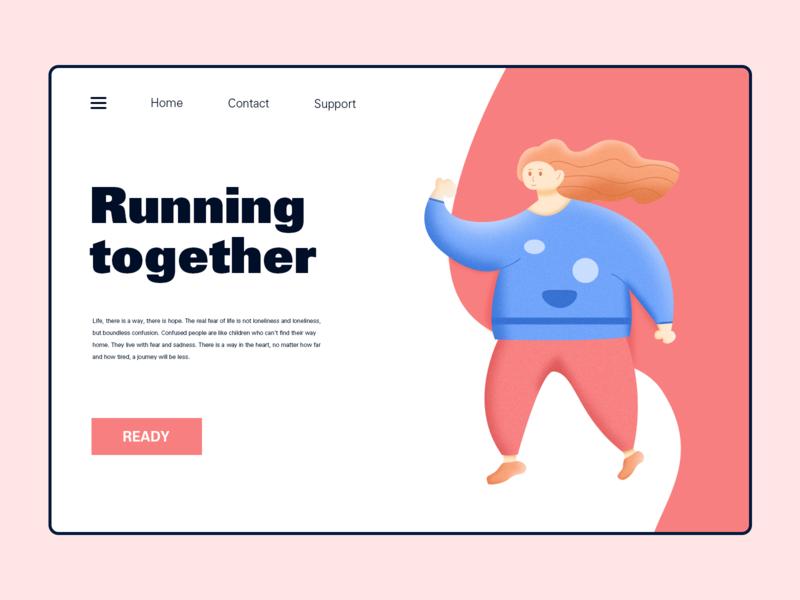 Running web