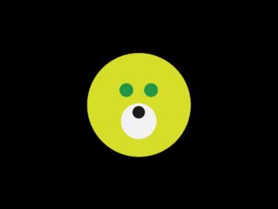 Bear Minimalist Logo logo type design ideas creative logo circle logo design animal logo bear logo minimalist logo minimalist bear