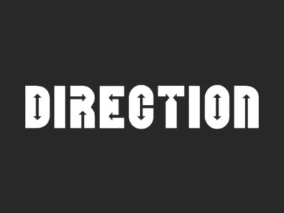 Direction Typographic Logo logo designer logo logo design brand identity brand branding direction creative logo typography logo typography typographic logo