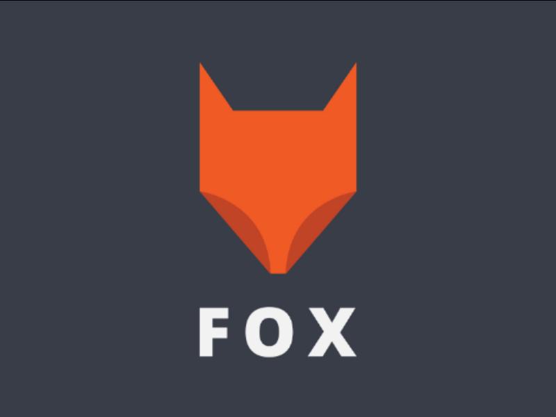 Fox Logo logo concept e-commerce brand design branding corporate logo brand identity animal logo fox logo minimalist logo designer logo design minimalist logo