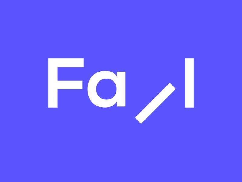 Fall Logo brand identity typography expressive typography brand designer logo creator logo maker logo designer clever logo logo logo mark wordmark creative logo logo design logotype creative typographic logo clever wordmark falling fall