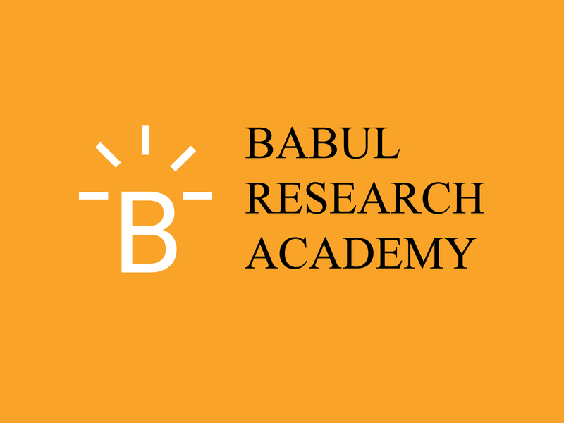 Babul Research Academy Logo Design institution academy logo academic knowledge light research logo research logo brand identity creative logo logo designer logo design