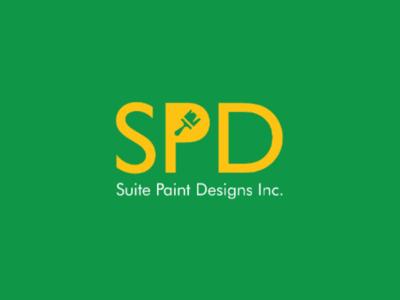 Suite Paint Designs Logo Proposal brush negative space negative space logo letter mark branding brand designer brand identity logo designer logo design paint logo design building paint paint
