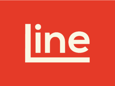 Line Logo Design clever logo creative logo brand identity designer brand identity branding logo designer logo design typographic logo typography wordmark logo wordmark line