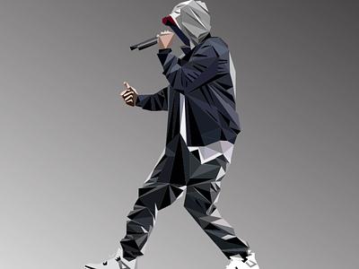 Eminem vector design illustration illustrator art music art slim shady eminem