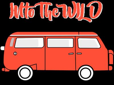into the wild volkswagon van travel adobe illustrator art illustrator illustration
