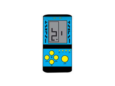 brick game videogame game 90skid brick game art adobe illustrator illustrator