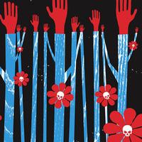 Hands & Stalks & Skulls
