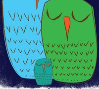 We 3 Owls Good Night