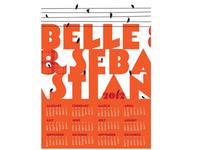 Belle Sebastian 2012 Wall Calendar