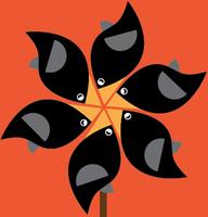 Pinwheel Birds